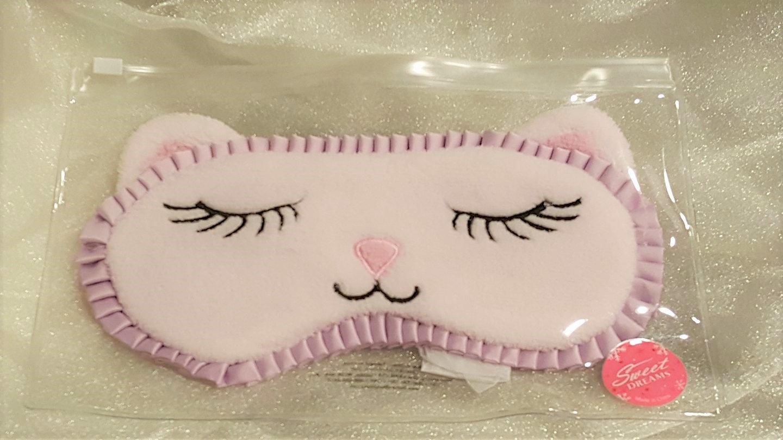 Bath & Body Works Sleep Mask Kitten Cat Sweet Dreams