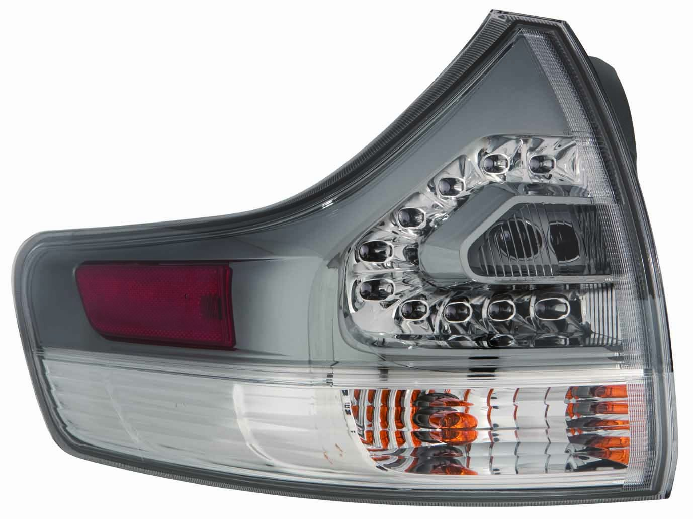 Depo 312-19A6L-AS7CS Toyota Sienna Driver Side Outer Tail Lamp Assembly with Bulb and Socket
