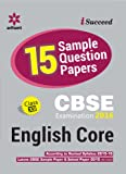 CBSE 15 Sample Question Paper - English CORE for Class 12th (Old Edition)