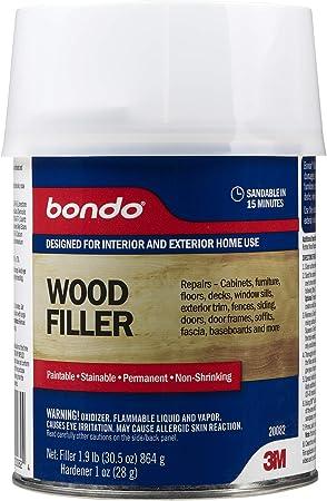 3m Bondo Home Solutions Wood Filler Wood Fill Amazon Canada