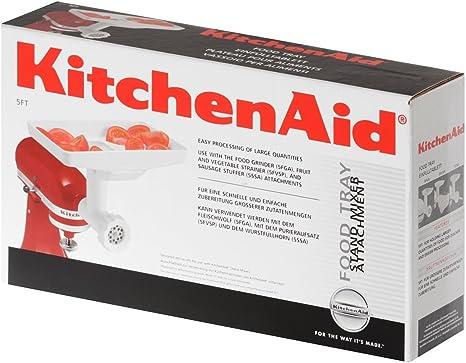 KitchenAid FT - Accesorio Kitchen Aid 5Ft Bandeja Para Robots De Cocina: Amazon.es