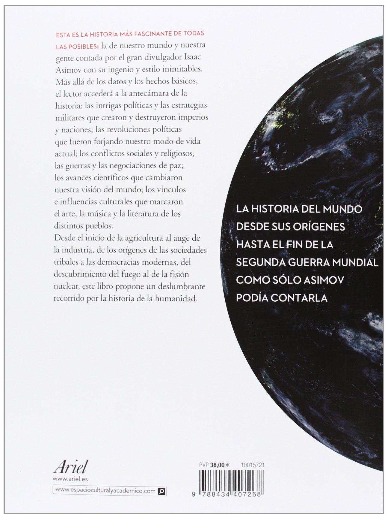 Historia y cronología del mundo: ISAAC ASIMOV: 9788434407268: Amazon.com:  Books