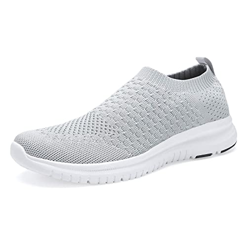YDB Womens Walking Shoes Lightweight Running Sneakers Comfortable Fashion Gym Sport Shoes Breathable Sock Casual Shoes