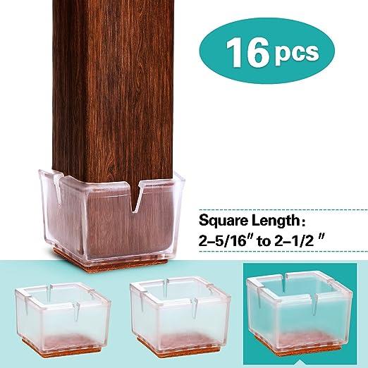 """Furniture Chair Nail Feet Glides 1//2/"""" 32pcs"""