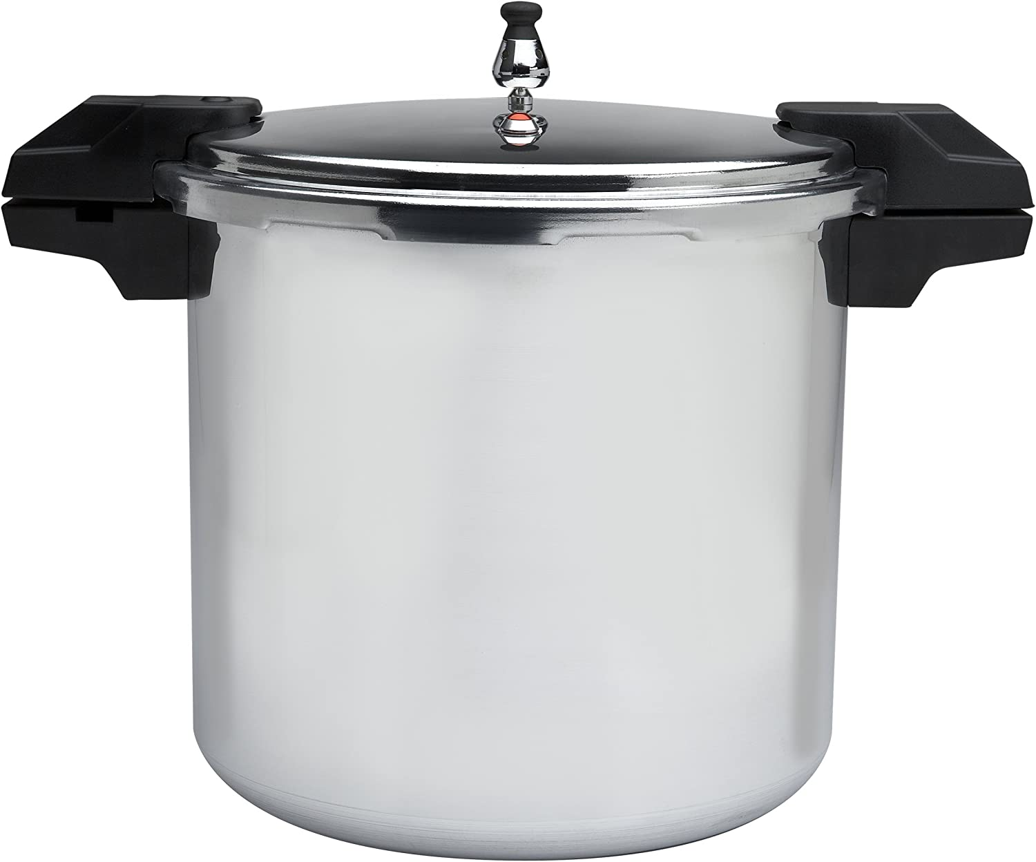 Mirro 92122A Polished Aluminum 5//10 Silver 22-Quart 15-PSI Pressure Cooker//Canner Cookware
