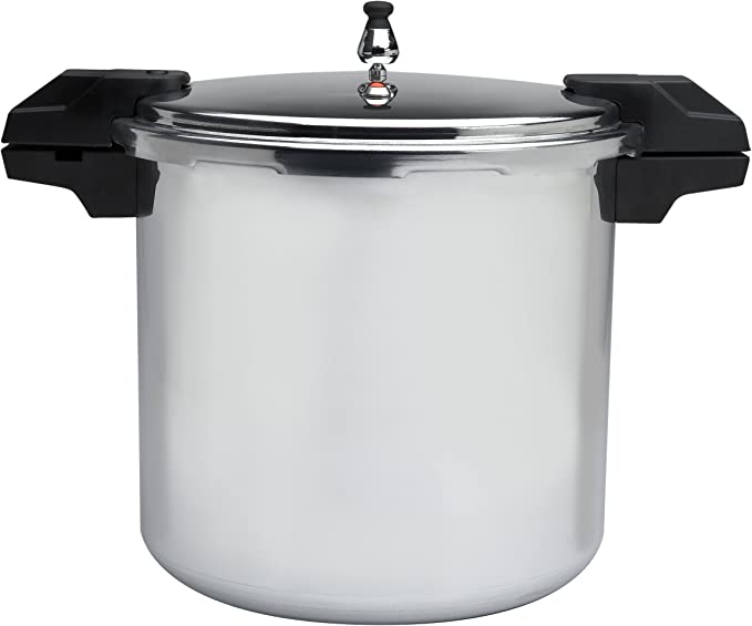 Mirro 92122A Polished Aluminum 22-quart Pressure Cooker and Canner