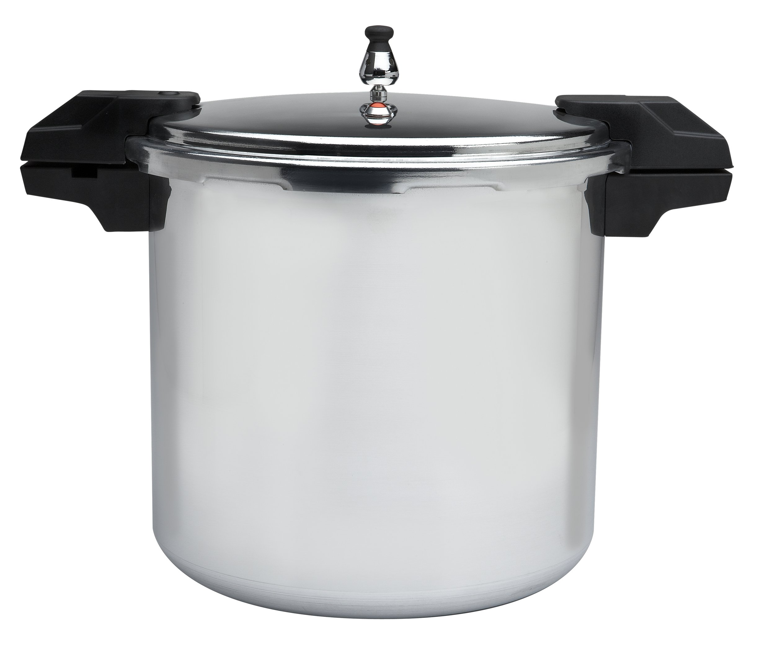 Mirro 92122A Polished Aluminum 5/10 / 15-PSI Pressure Cooker/Canner Cookware, 22-Quart, Silver by Mirro (Image #1)