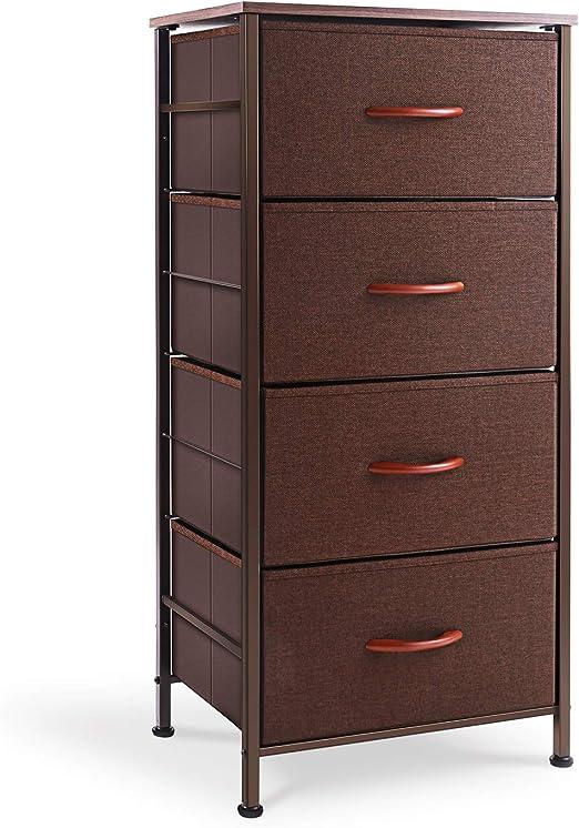4 Drawer Chest Dresser Bedroom Storage Cabinet Modern Furniture Sterilite NEW