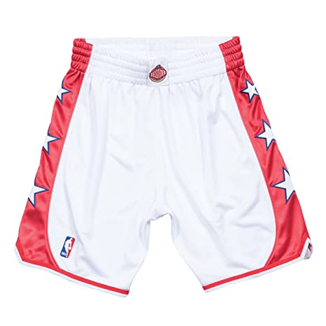 d27cafd07b6 Image Unavailable. Image not available for. Color: Mitchell & Ness 2004 NBA  All Star West Authentic Throwback White Shorts Men's