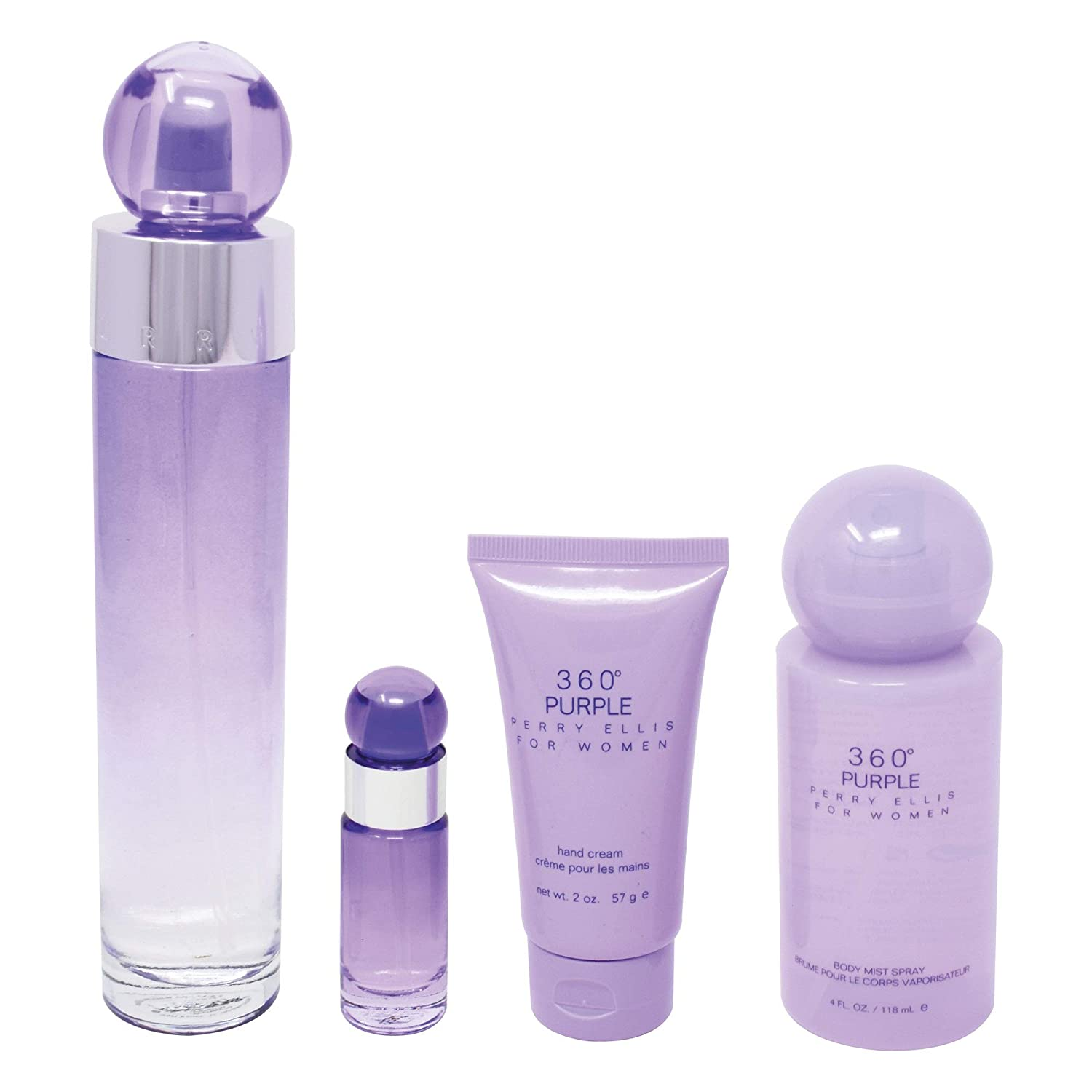 Amazon.com : Perry Ellis 360 Purple by Perry Ellis Gift Set ...