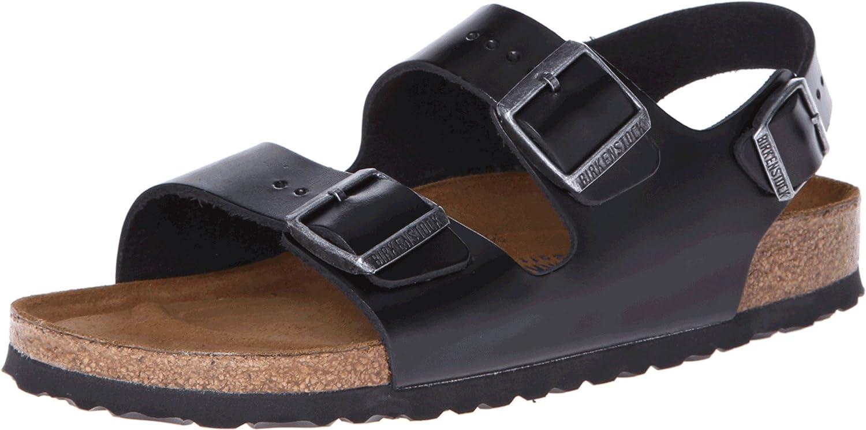 BIRKENSTOCK Milano Unisex Soft Footbed Leather Sandal