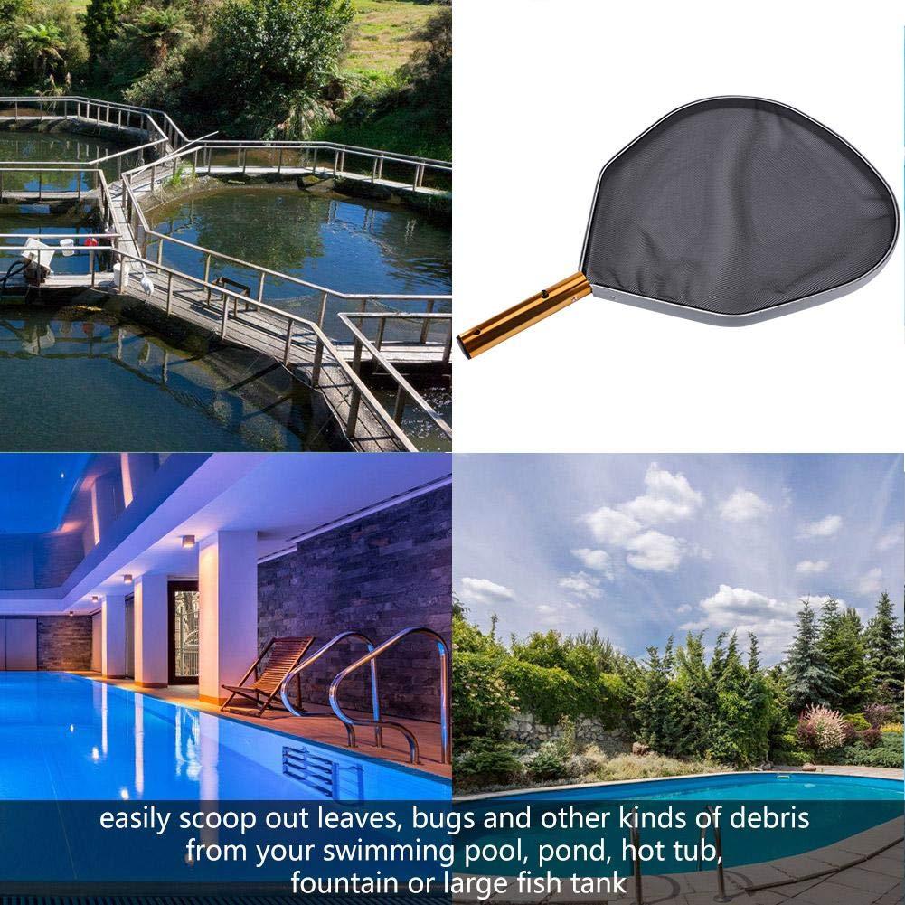 rastrello della Rete del Filtro dalla Foglia di Alluminio per la Foglia di Pesce della Piscina Pulita VGEBY1 Rastrello da Piscina
