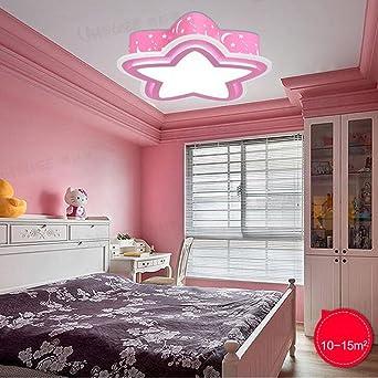 GBYZHMH Fünfstrahlige Kinderzimmer LED Augenschutz Deckenleuchte ...