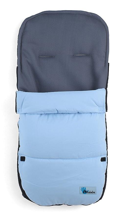 Altabebe AL2400-04 - Saco de abrigo para carrito, color azul ...
