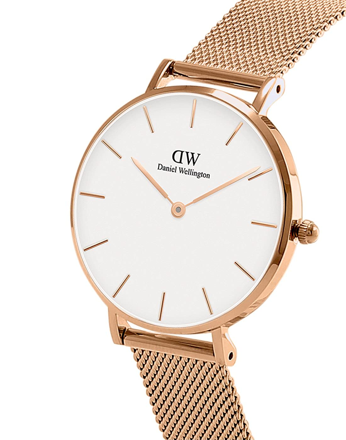 0d8ee70d3c192 Amazon.com  Daniel Wellington Classic Petite Melrose in Rosegold 32mm   Watches