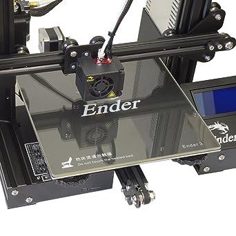 Amazon.com: [Gulfcoast Robotics] Impresora 3D Borosilicato ...