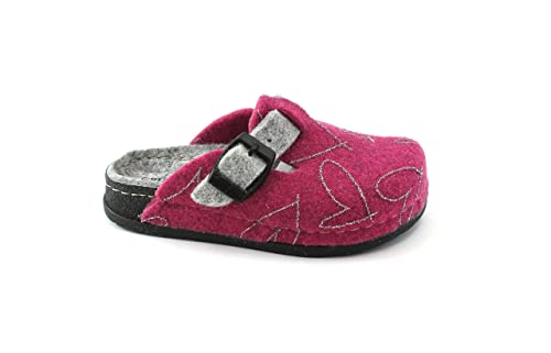 new style d0479 1b86b GRUNLAND Seck CI1395 28/35 Fuxia Grigio Ciabatte Pantofole ...