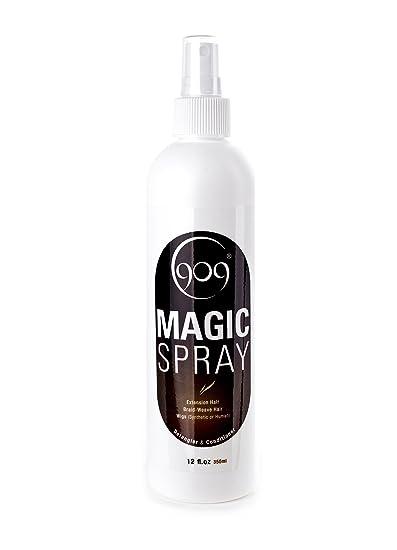 Amazon 909 detangler magic spray aloe vera infused leave in 909 detangler magic spray aloe vera infused leave in conditioner for 100 remy pmusecretfo Images