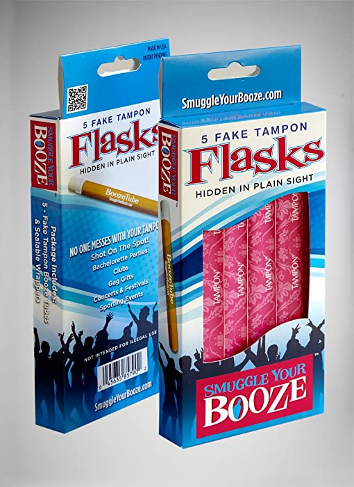 Smuggle-Your-Booze-with-10-Tampon-Flasks-and-10-Sleeves