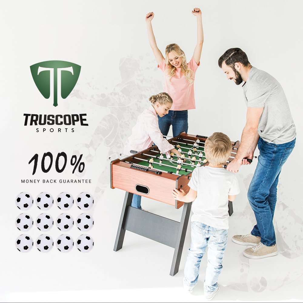 Truscope Sports Foosball Table Soccer Replacement Balls 36mm