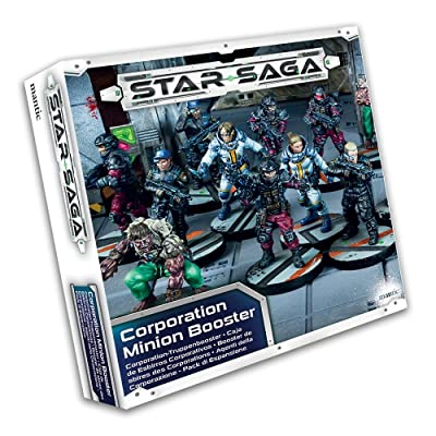 Mantic Games Star Saga: Corporation Minion Booster: Toys & Games