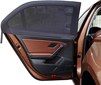 Car Window Shades For Baby With UV Protection Suitable 19x12/'/' For Most Vehicles