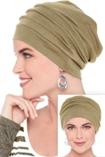 ca0f28fdb588f Headcovers Unlimited Slouchy Snood-Caps for Women with Chemo Cancer Hair  Loss