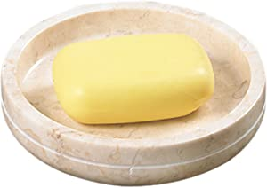 Creative Home Champagne Marble Notch Soap Dish