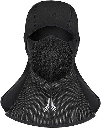 MOZOWO Balaclava Winter Windproof Waterproof Breathable Full Face Mask for Men Women