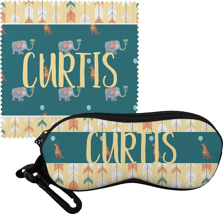 Animal Friend Birthday Eyeglass Case /& Cloth Personalized