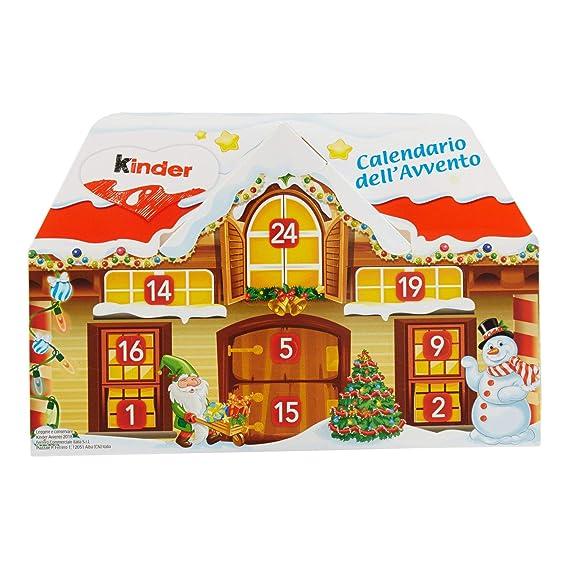 Calendario Avvento Kinder Prezzo.Kinder Calendario Avvento Casetta Cioccolatini Assortiti