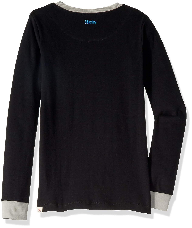 Hatley Organic Cotton Long Sleeve Appliqu/é Pyjama Set Conjuntos de Pijama para Ni/ños