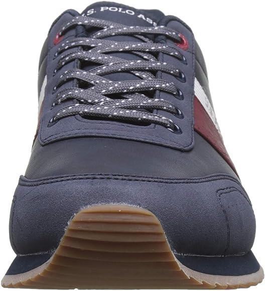 U.S. Polo Assn. Vance1, Zapatillas de Gimnasia para Hombre, Azul ...