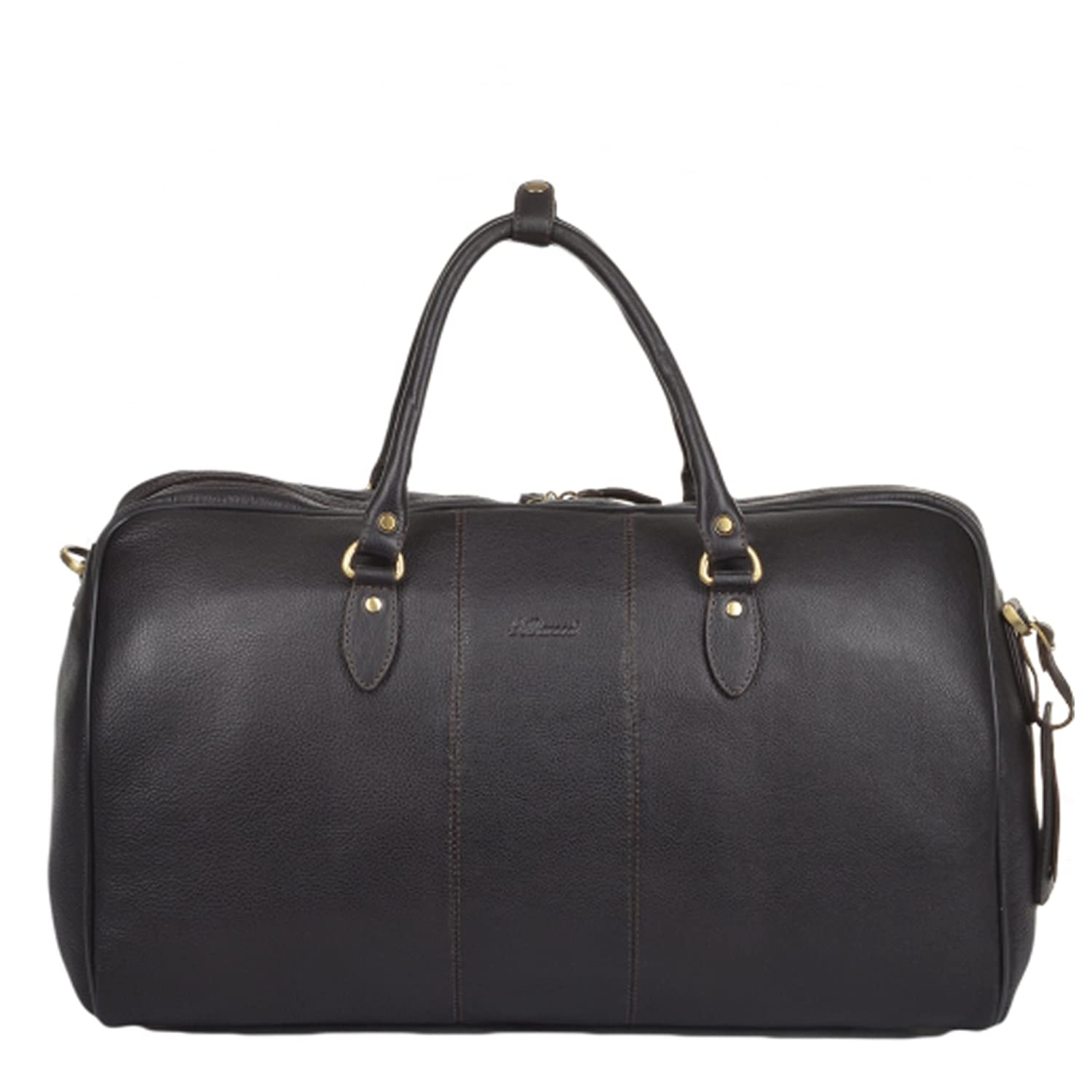 0dd7143436a Ashwood Westminster Charles Weekend Holdall Brown  Amazon.co.uk  Clothing