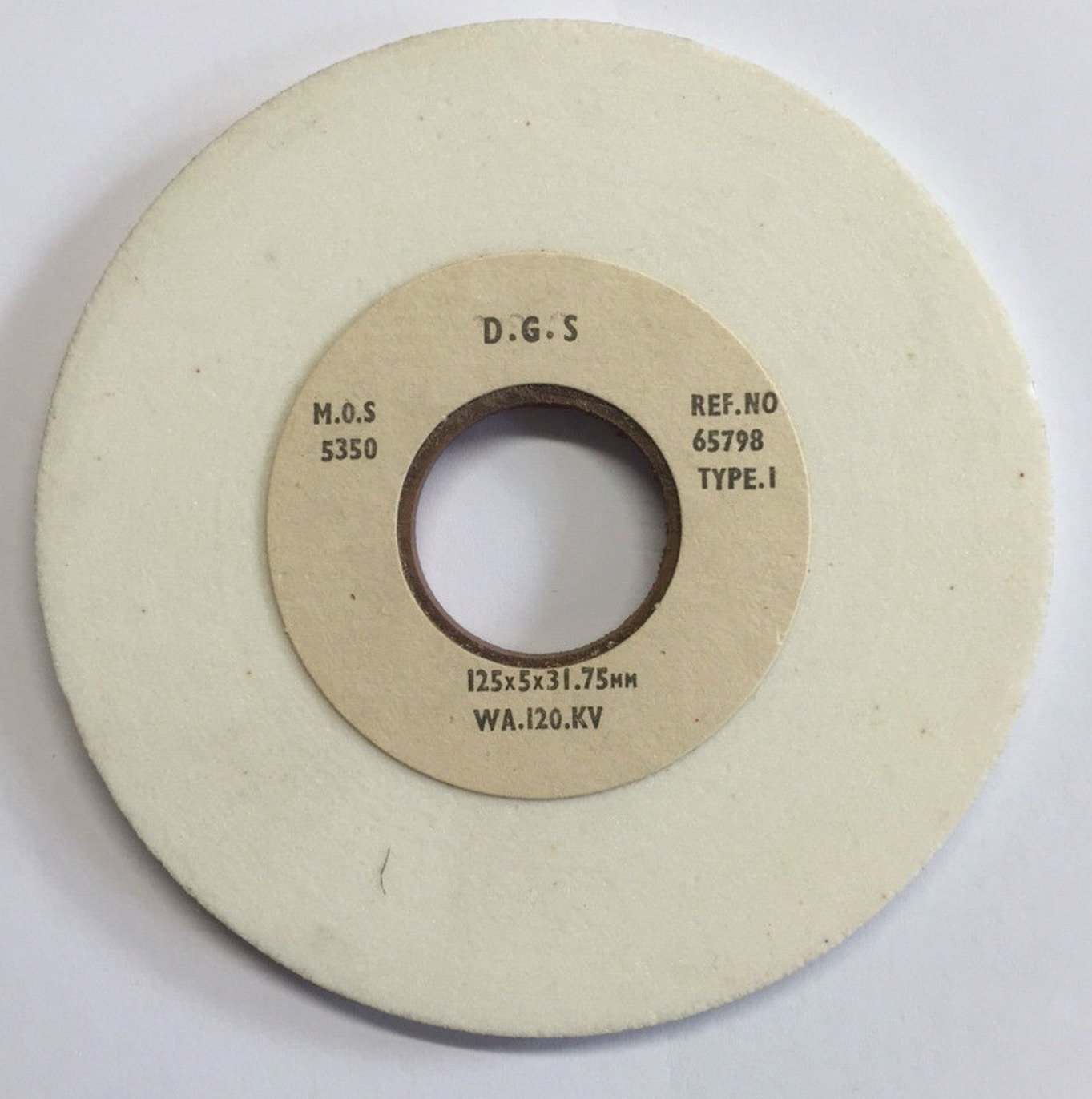 German 125 x 5 x 31.75mm WA150KV Grit Wickman OPG Grinding Wheels