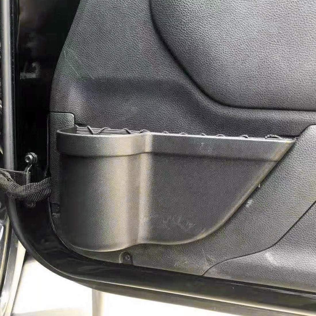 Auto Storage Box Auto-T/ür-Becherhalter Selbstaufbewahrungsbeh/älter Multi-Use-Tools Organizer-Boxen 2 PCS Fit for Jeep Wrangler JK 2011-2017