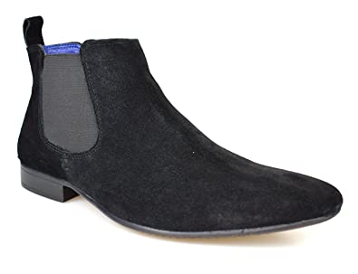 c6da77bca Silver Street Carnaby Tan Suede Mens Chelsea Boots  Amazon.co.uk  Shoes    Bags