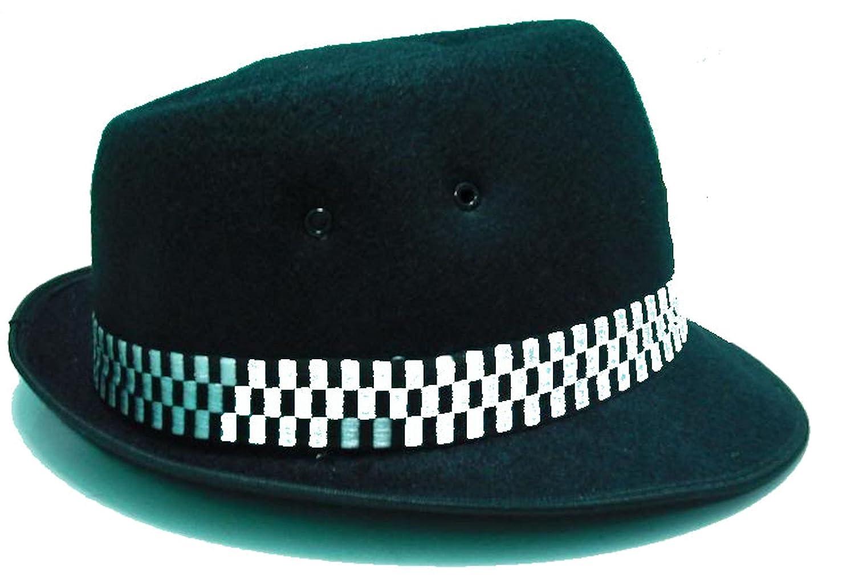 Ska porkpie Cappello Classic Black (vari formati Small - XL)