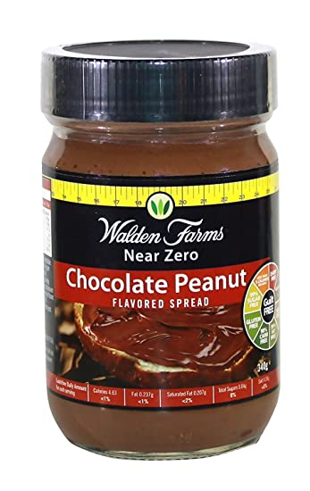 Walden Farms Calorie Free Peanut Spread Chocolate -- 12 oz