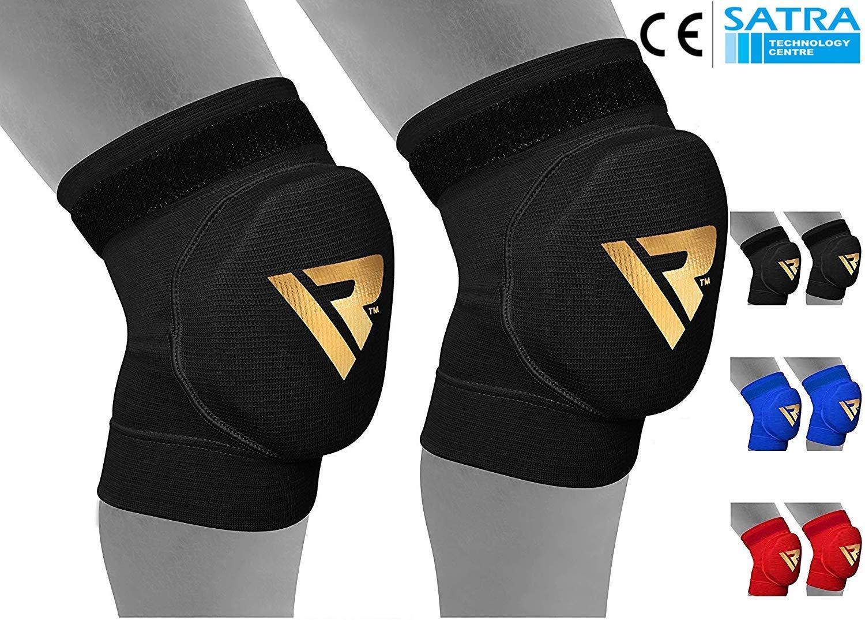 RDX MMA Tutore Fascia Ginocchio Support Boxe Ginocchiere Pallavolo  Protezione Fitness product image db8c0f4fa547