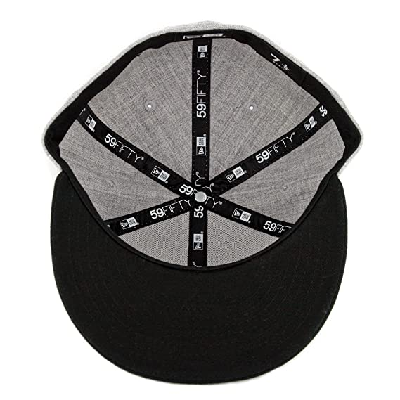 Amazon.com : New Era 5950 Tijuana Xolos Fitted Hat (Heather Grey/Black) Mens TJ Xolo Cap : Sports & Outdoors