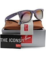 Ray-Ban RB2140 Sunglasses Violet Jeans w/Violet Gradient (1167/S5) 2140 1167S5 50mm Authentic