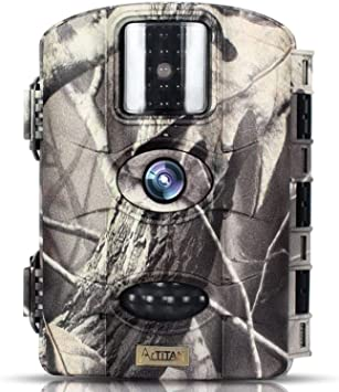 Opinión sobre TRAIL WATCHER Cámara de Caza 16MP 1080P HD Trail Cámara Impermeable IP65 con Infrarrojos PIR Sensor de Movimiento con Lapso de Tiempo 65ft Visión Nocturna de Caza para Hogar Caza