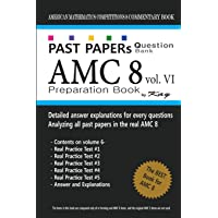 Past Papers Question Bank AMC8 [volume 6]: amc8 math preparation book