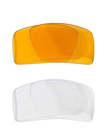 8bbc5eb221e Eyepatch 1 Replacement Lenses Hi Intensity Yellow   Clear by SEEK fits  OAKLEY