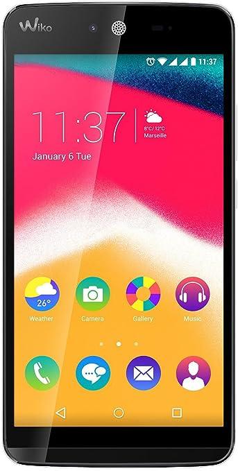 315 opinioni per Wiko Rainbow Jam Smartphone, 8 GB, Dual SIM, Bianco