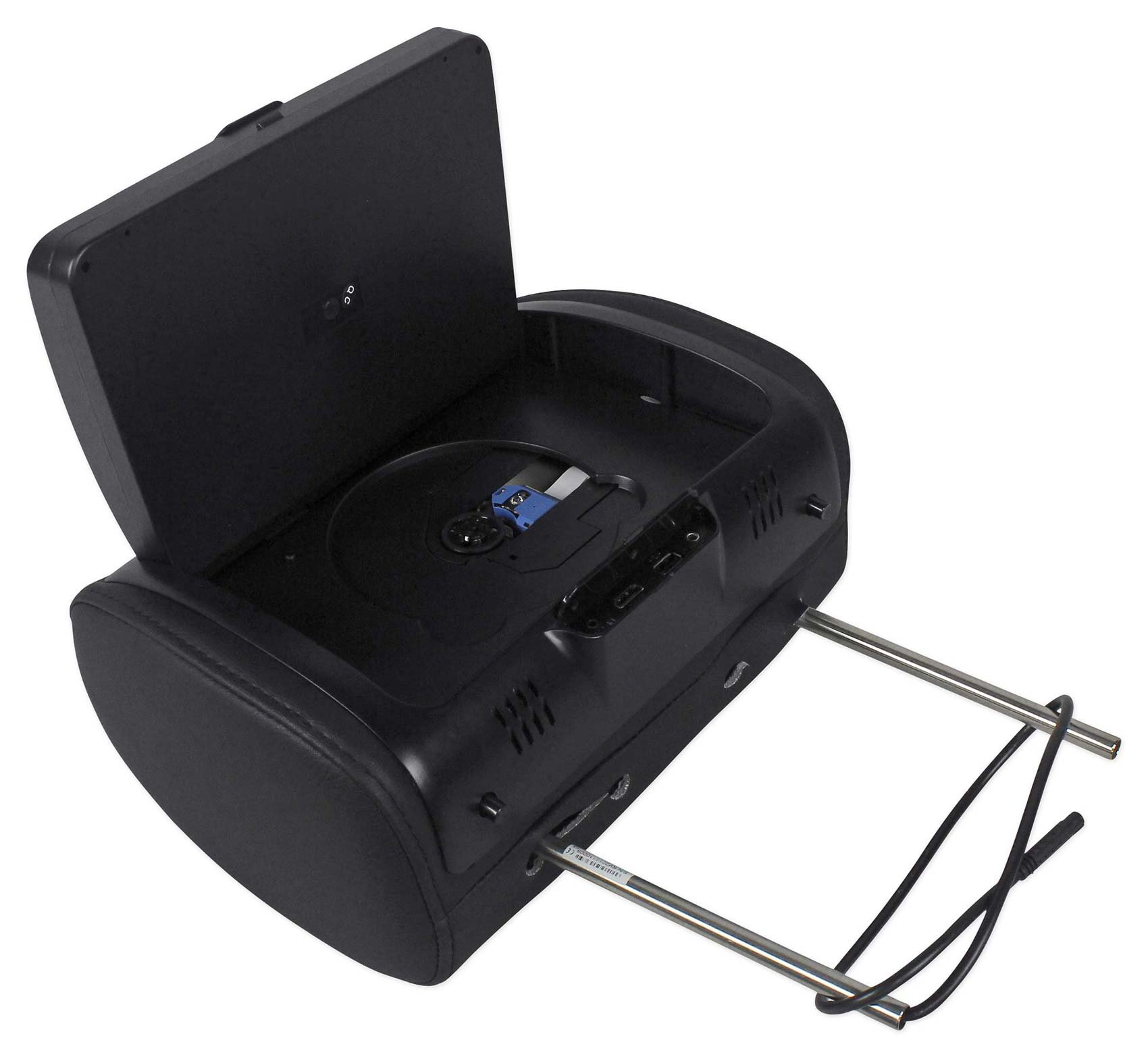 "Rockville RTSVD961-BK 9"" Black Touchscreen Dual DVD/HDMI Car Headrest Monitors by Rockville (Image #4)"