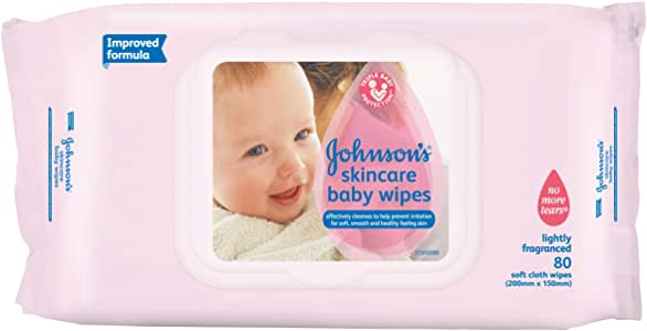 Johnson's Baby Wipes Skincare Ltly Scntd 80