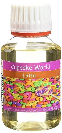 Cupcake World Aromatizante Alimentario Café con Leche - 100 ml