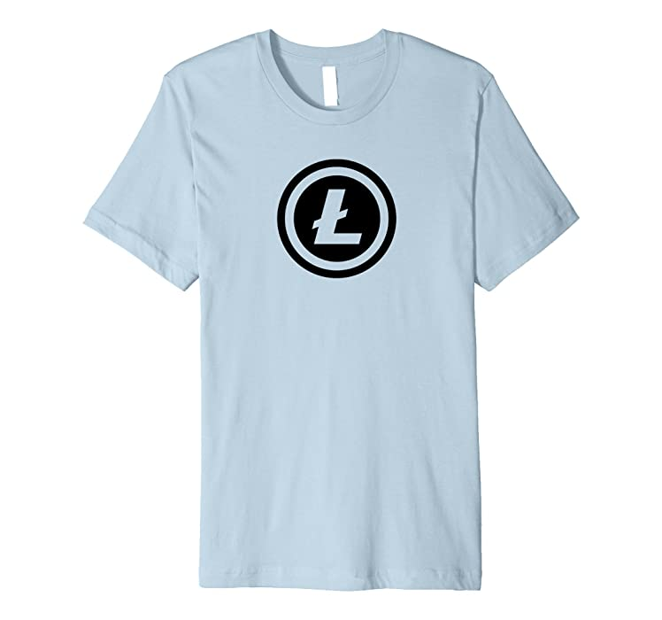 Amazon Mens Litecoin Logo L Symbol Coin Crypto Currency Tee 2xl
